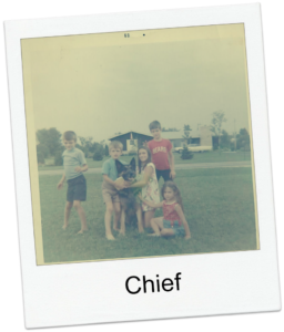 Chief with kids image